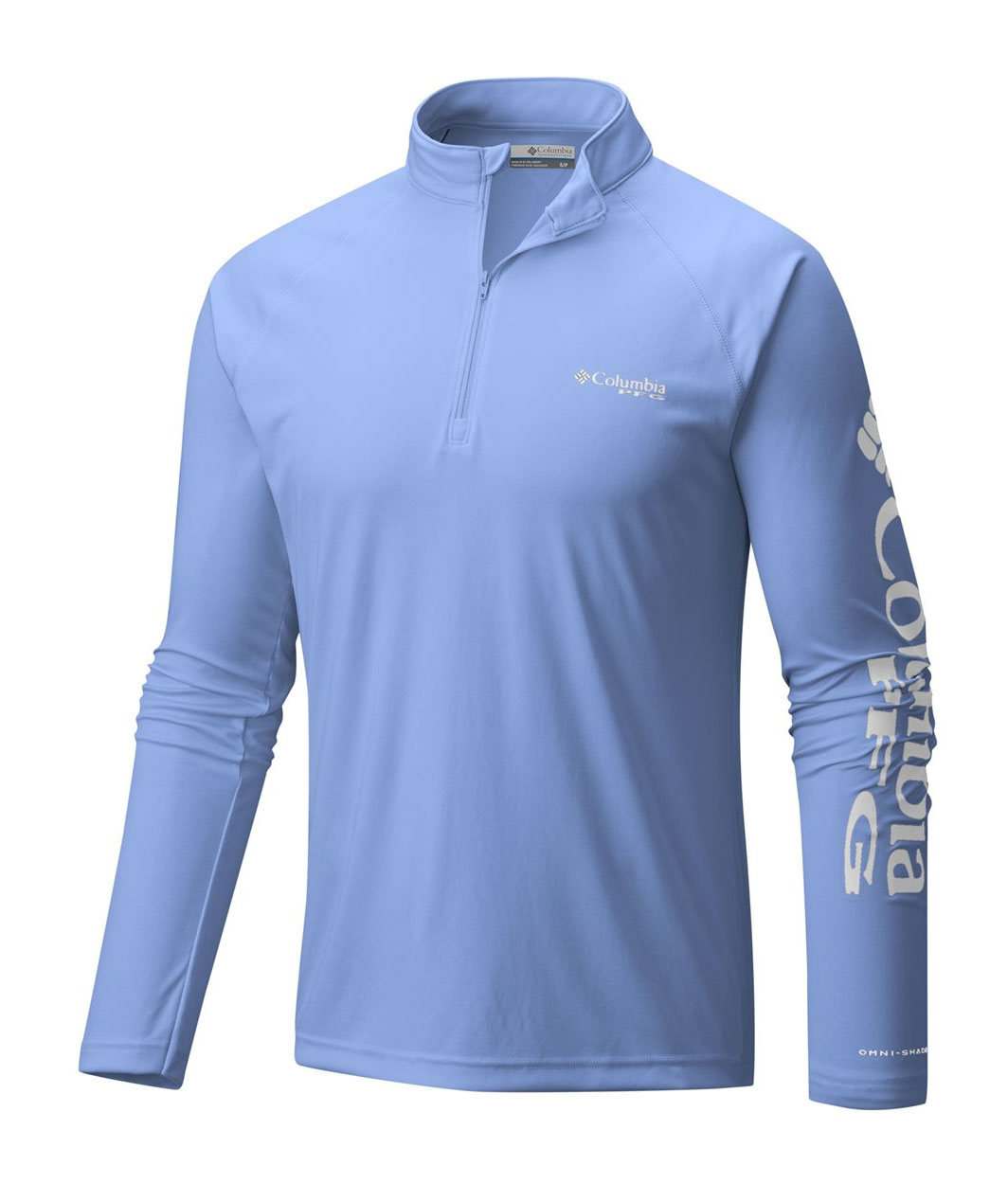 Columbia Mens Terminal Tackle Long Sleeve 1/4-Zip Shirt