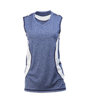 Custom Girls Boomerang Sleeveless Softball Jersey