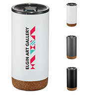 Custom Valhalla Copper Vacuum 16 oz Tumbler with Cork