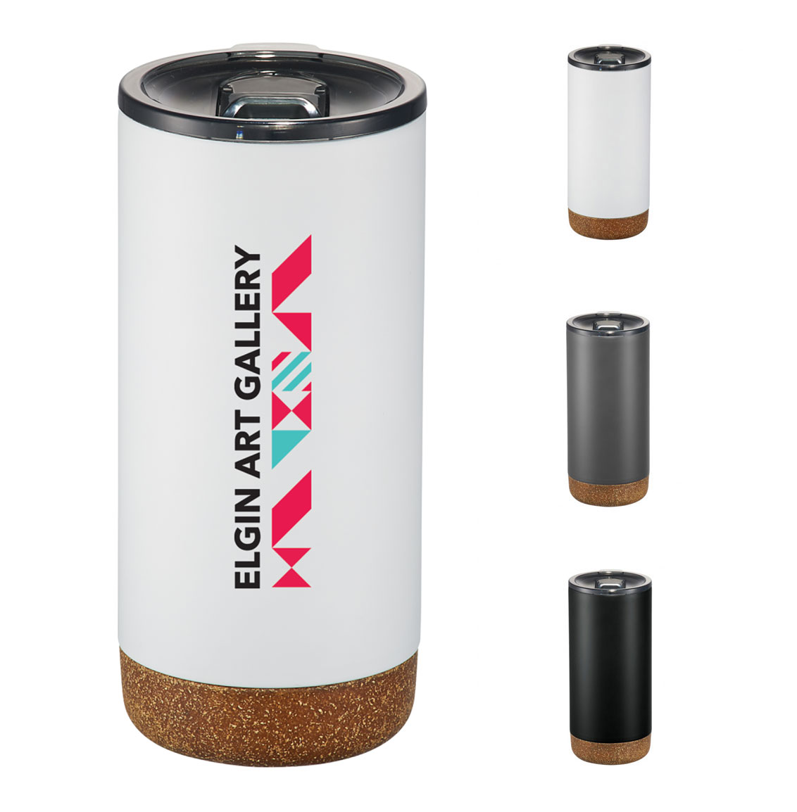 Valhalla Copper Vacuum 16 oz Tumbler with Cork