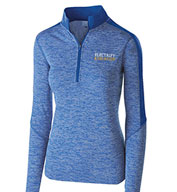 Custom Holloway Ladies Electrify 1/2 Zip Pullover