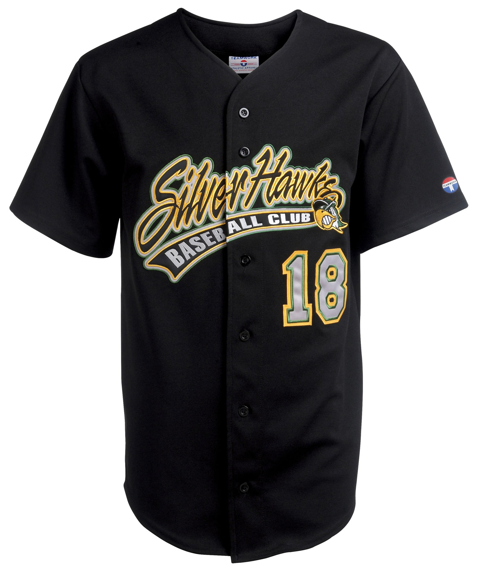 Teamwork Adult Home Run Pro Weight 6-Button Baseball Jersey - CLOSEOUT