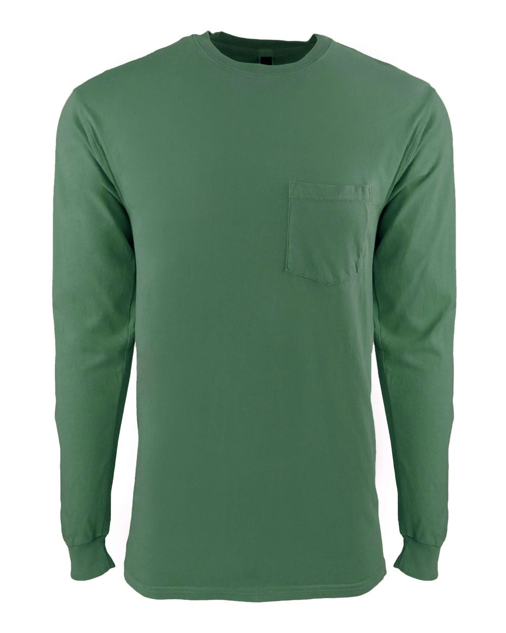 Next Level Inspired Dye Pocket Long Sleeve Adult  Crew