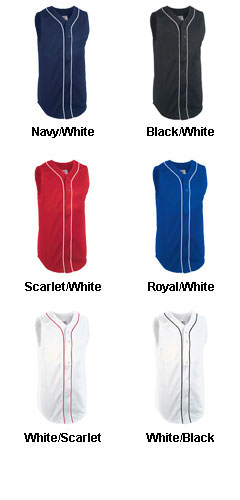 Adult Pinch Hitter Sleeveless Pro Weight Baseball Jersey - All Colors