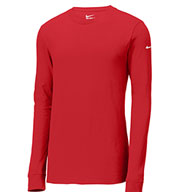 Custom Adult Nike Core Cotton Long Sleeve