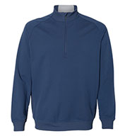Custom Adidas Mens Quarter Zip Club Pullover