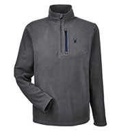 Custom Spyder Mens Transport 1/4-Zip Fleece Pullover