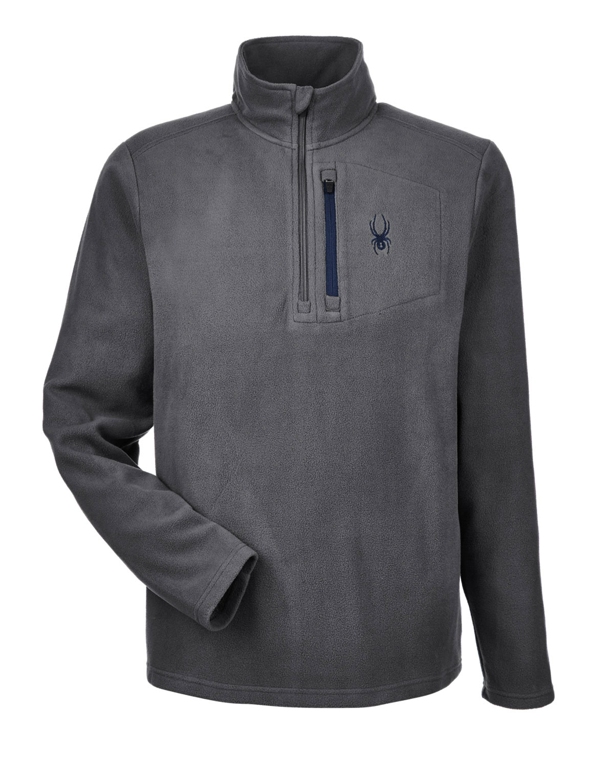 Spyder Mens Transport 1/4-Zip Fleece Pullover