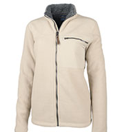 Custom Charles River Womens Jamestown Fleece Jacket