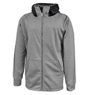 Custom Mens Performance Fleece Full Zip Sweatshirt
