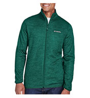 Custom Columbia Mens Birch Woods™ II Full-Zip Fleece Jacket