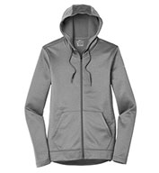 Custom Nike Ladies Therma-FIT Full-Zip Fleece Hoodie