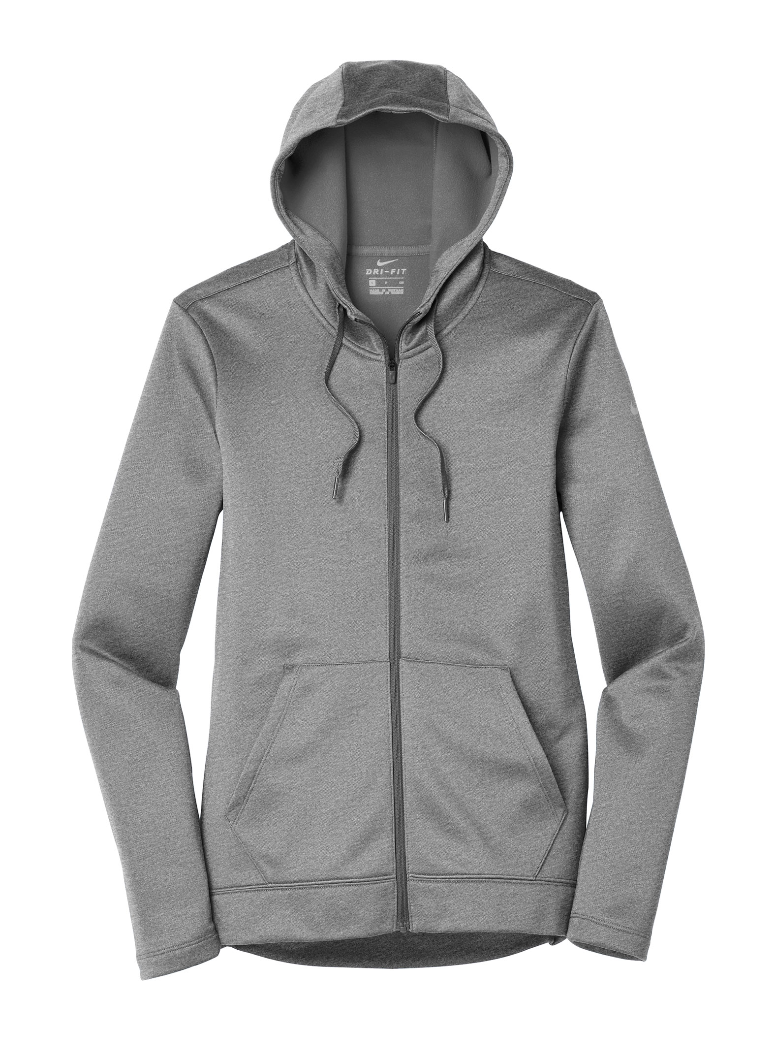 impulso picnic Extranjero  Custom Nike Ladies Therma-FIT Full-Zip Fleece Hoodie