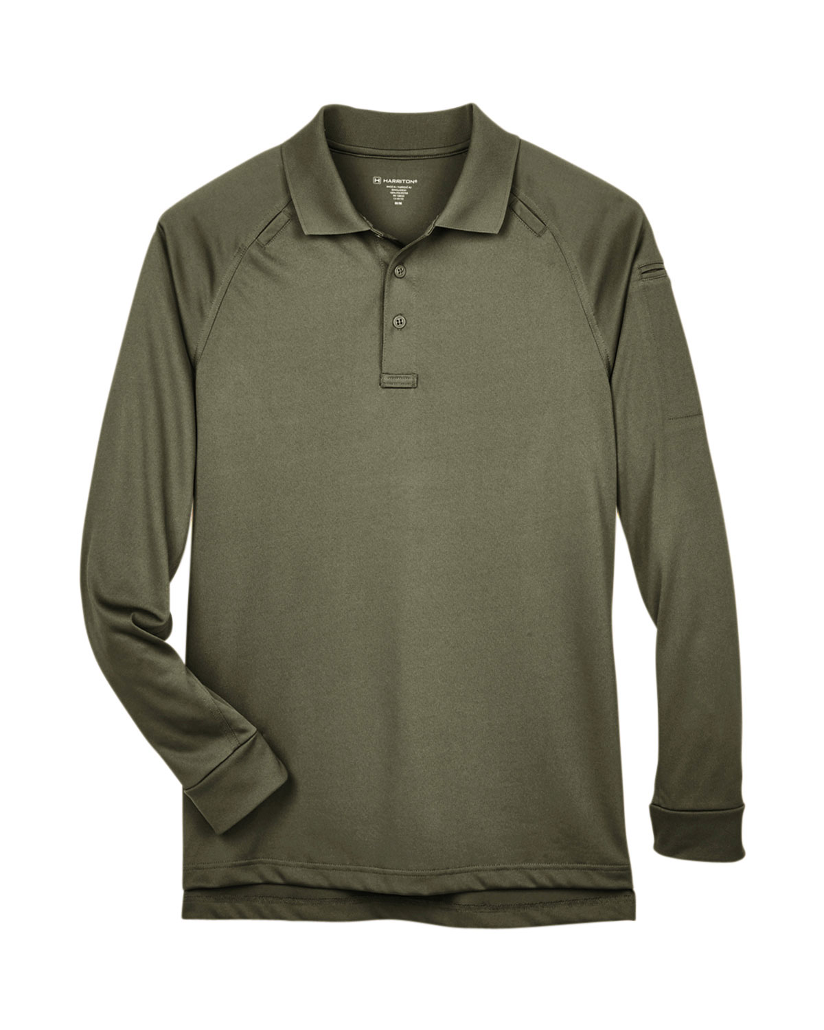Mens Tactical Long-Sleeve Performance Polo