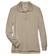 Custom Ladies Tactical Long-Sleeve Performance Polo