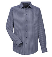 Custom Devon & Jones Mens CrownLux Performance Tonal Mini Check Shirt