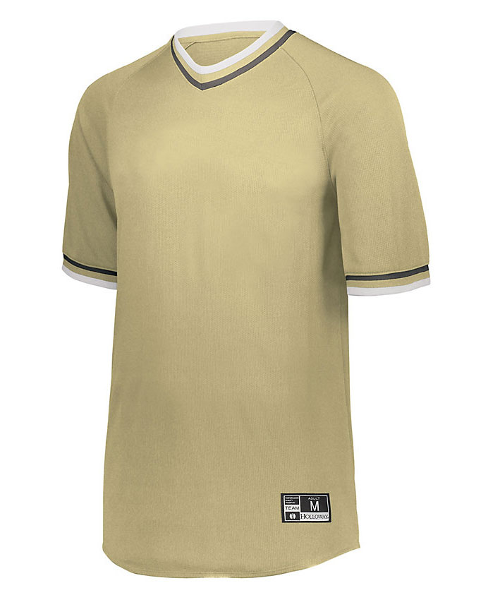Youth Retro V-Neck Baseball Jersey