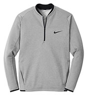 Custom Nike Mens Therma-FIT Textured Fleece 1/2-Zip