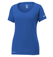 Custom Nike Ladies Dri-FIT Cotton/Poly Tee