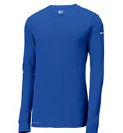 Custom Nike Dri-FIT Cotton/Poly Long Sleeve Tee