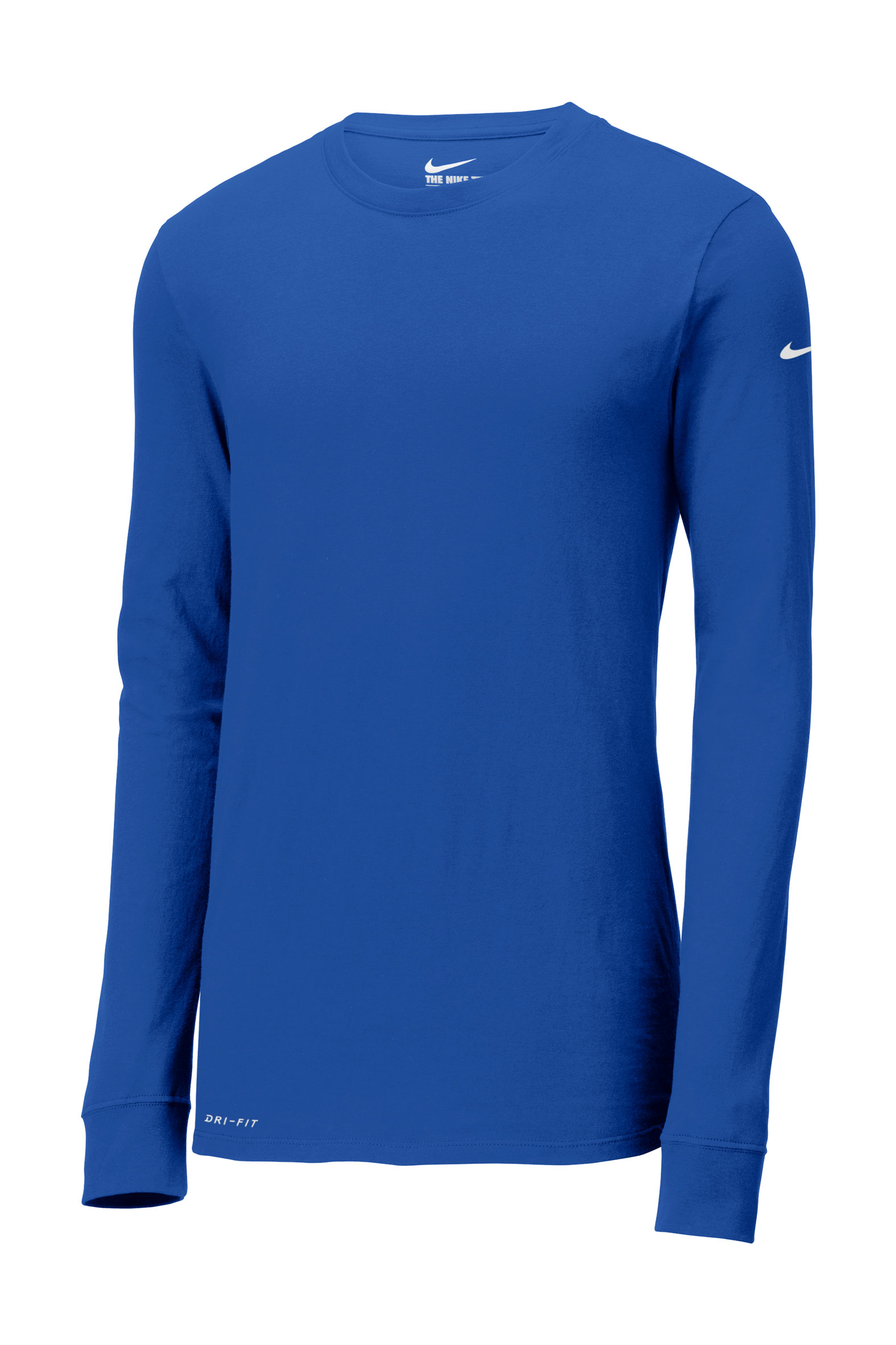 f5aea882b Nike Dri-FIT Cotton/Poly Long Sleeve Tee - Design Online