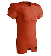 Custom ChamPro Adult Red Dog Collegiate Fit Football Jersey