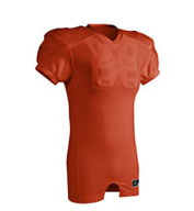 Custom Red Dog Collegiate Fit Youth Football Jersey