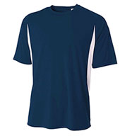 Custom A4 Adult Cooling Performance Color Blocked Crew