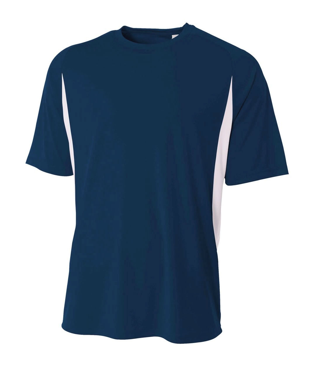 A4 Adult Cooling Performance Color Blocked Crew