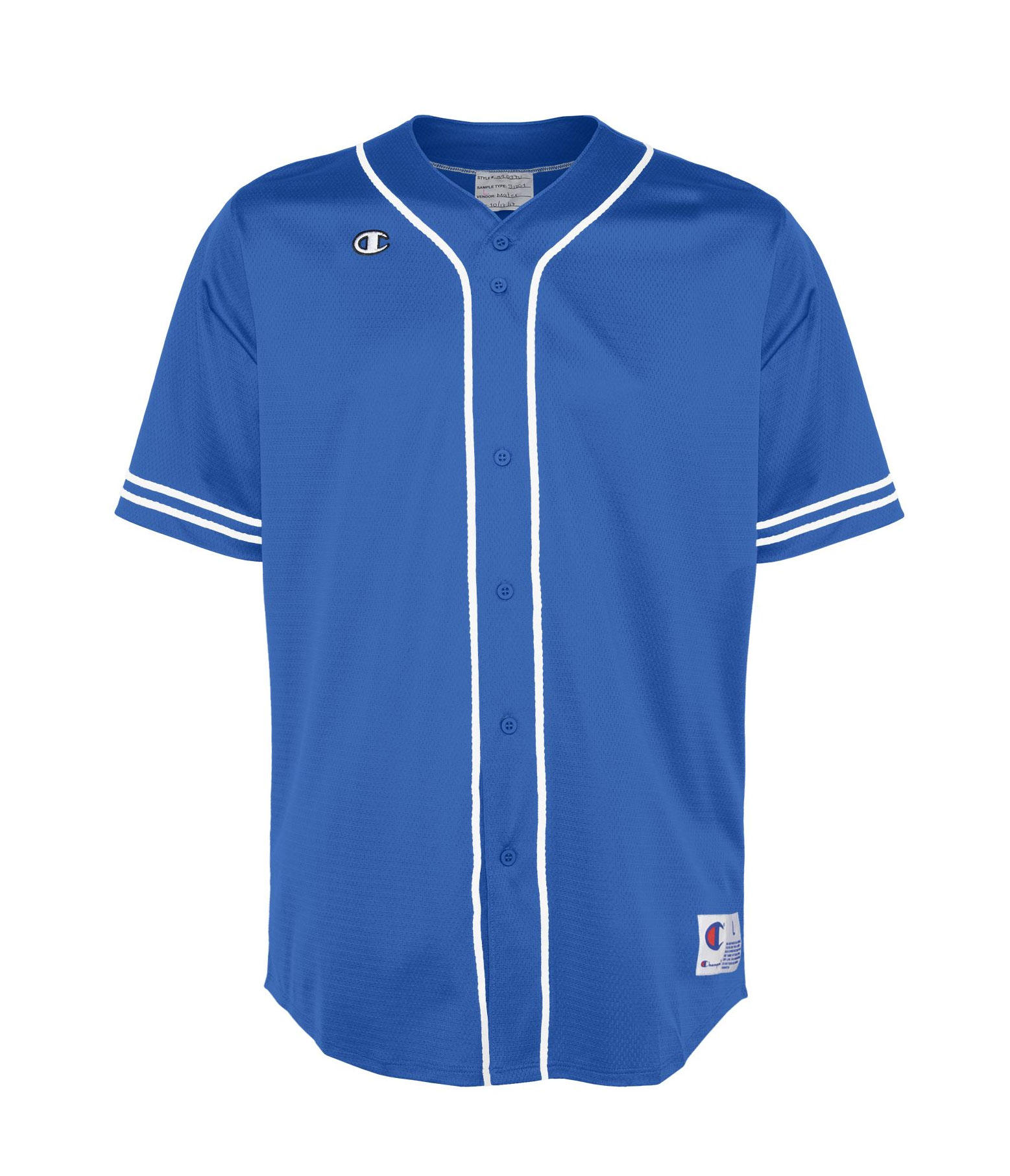 Adult Champion Slider Baseball Jersey