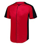 Custom Mens Full Button Baseball Jersey