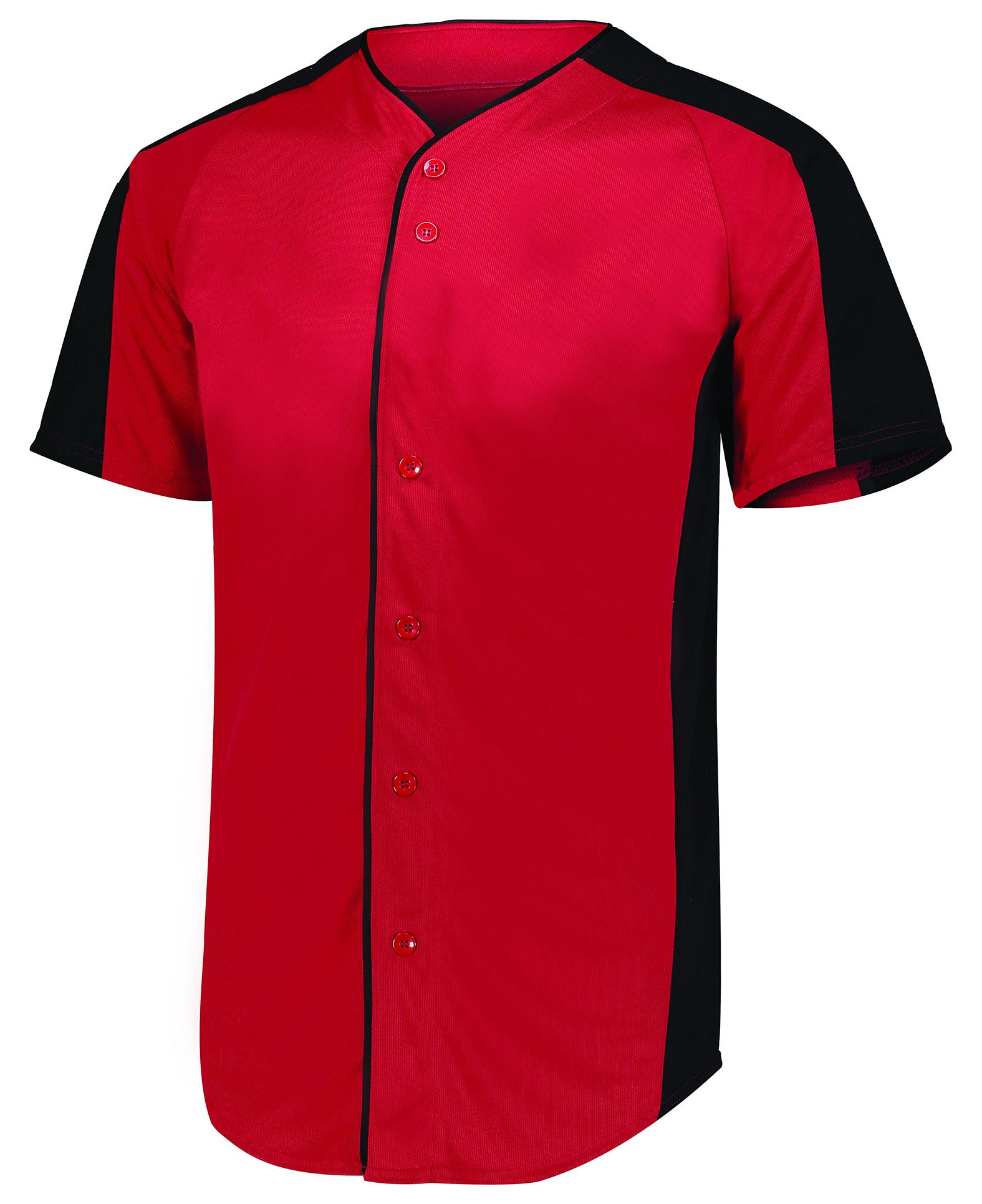 Mens Full Button Baseball Jersey