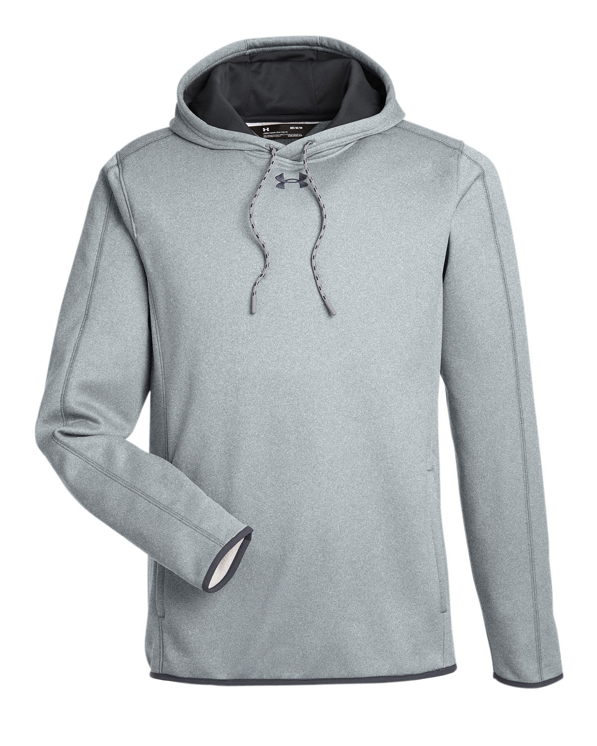 e010891a Mens Under Armour Double Threat Armour Fleece® Hoodie