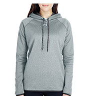 Custom Ladies Under Armour Double Threat Armour Fleece® Hoodie
