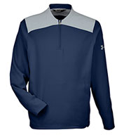 Custom Under Armour Mens Coporate Triumph Cage Quarter-Zip