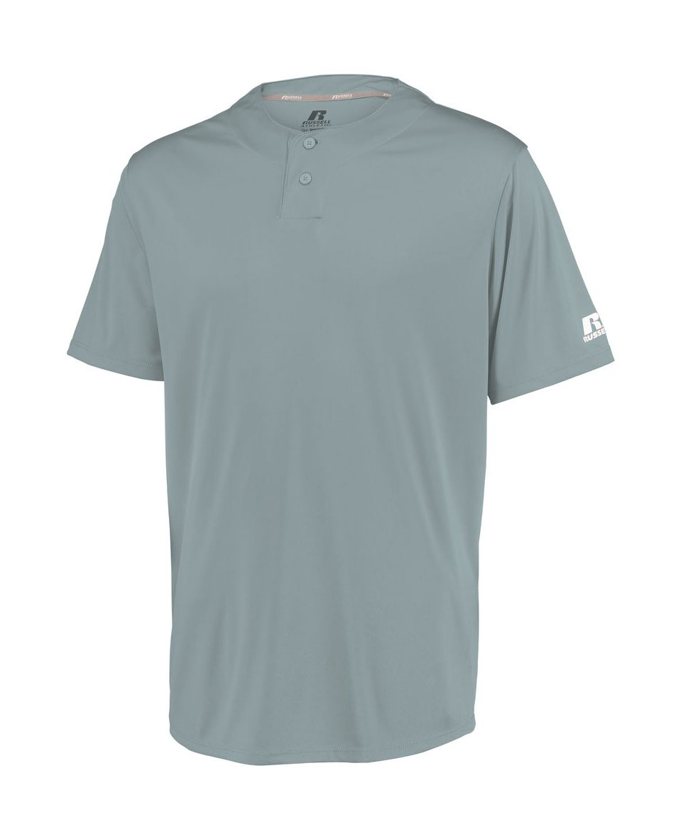 Russell Performance Adult Two-Button Solid Jersey