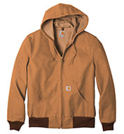 Custom Carhartt Tall Duck Active Jacket Water Repellent w/Thermal Lined Mens