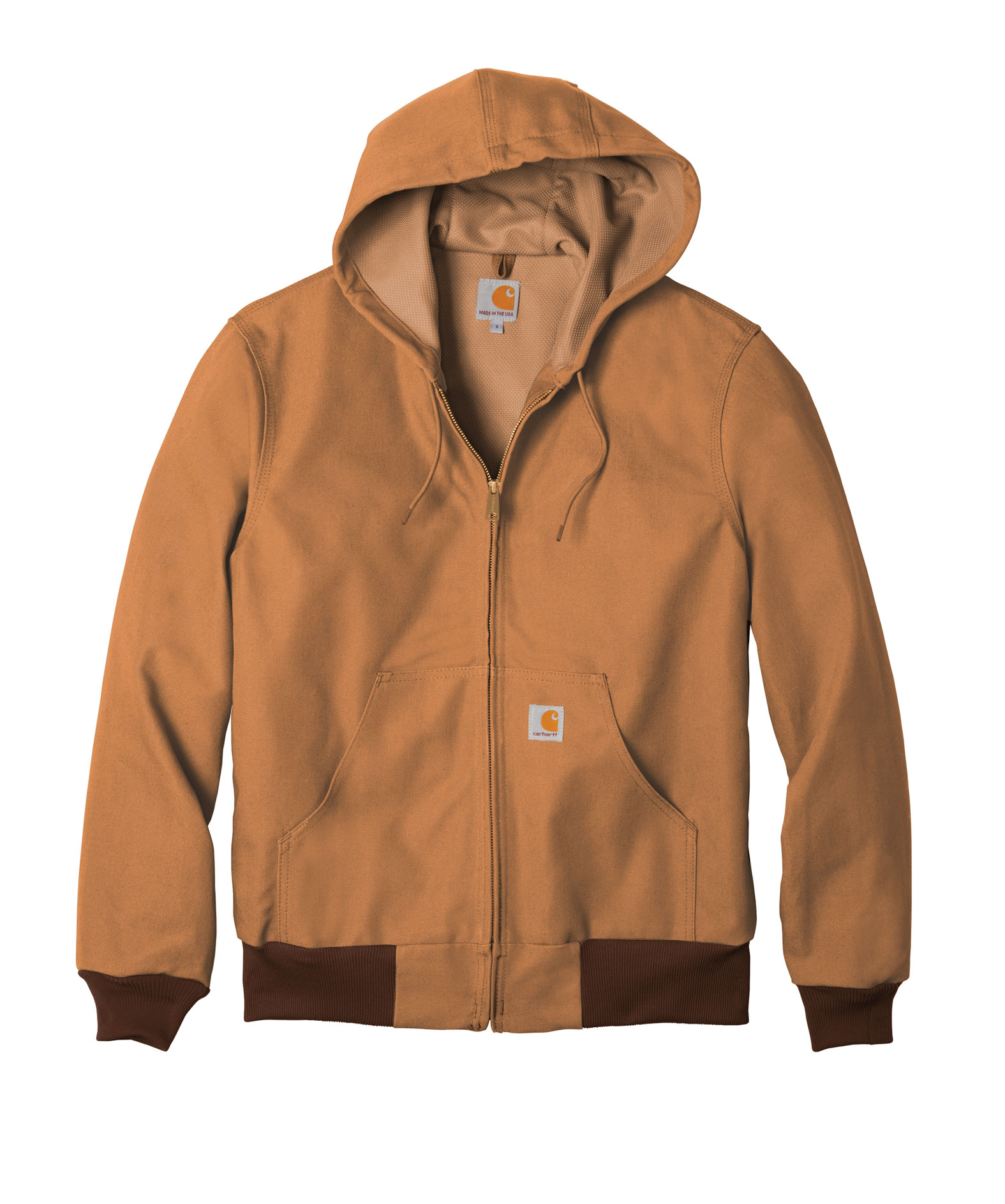 438cbbd06ce Customize Carhartt Tall Duck Active Jacket Water Repellent w Thermal ...