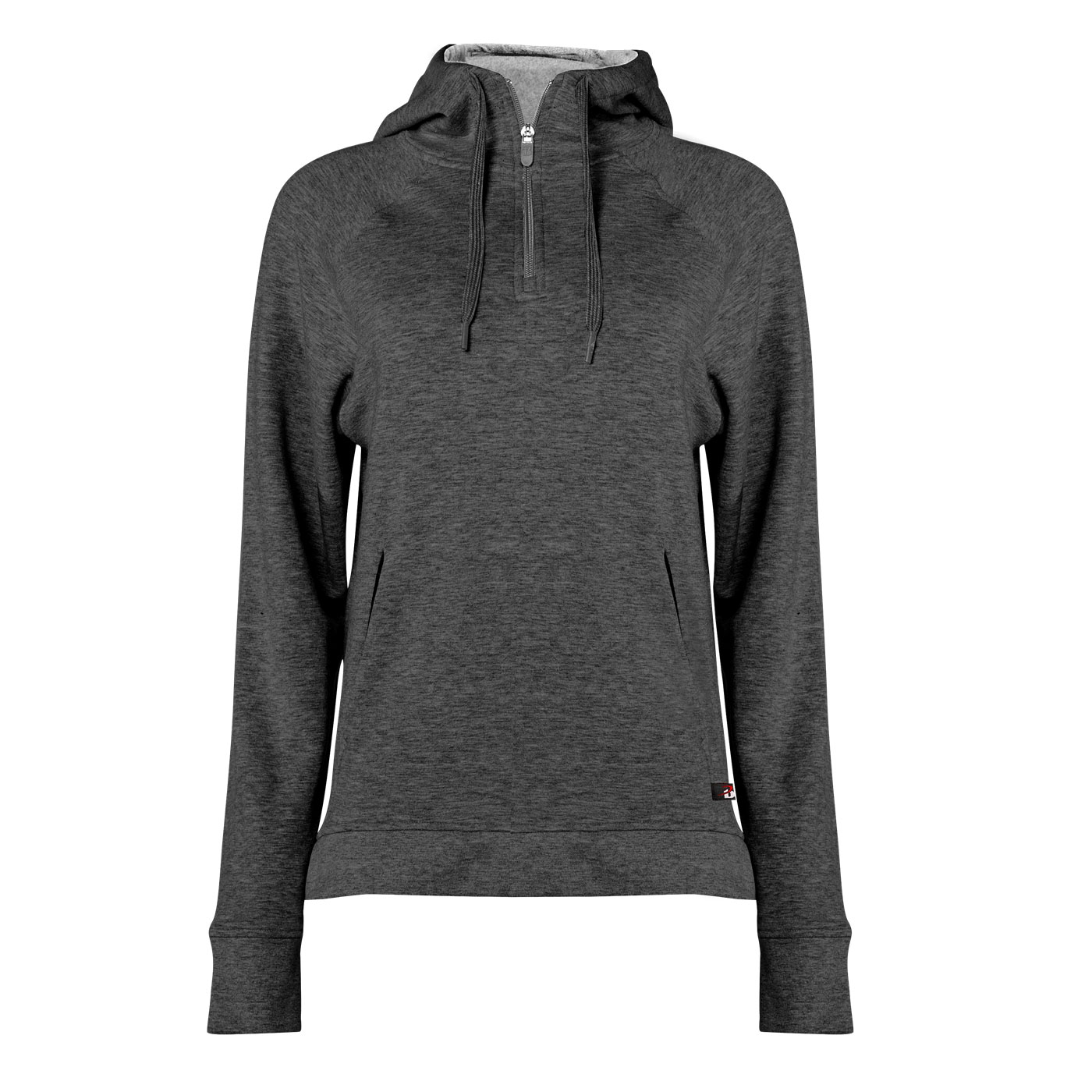Fit Flex French Terry Ladies Hood Zip