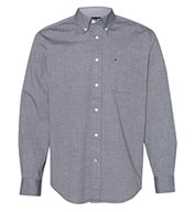 Custom Tommy Hilfiger - Adult Capote End-on-End Chambray Shirt