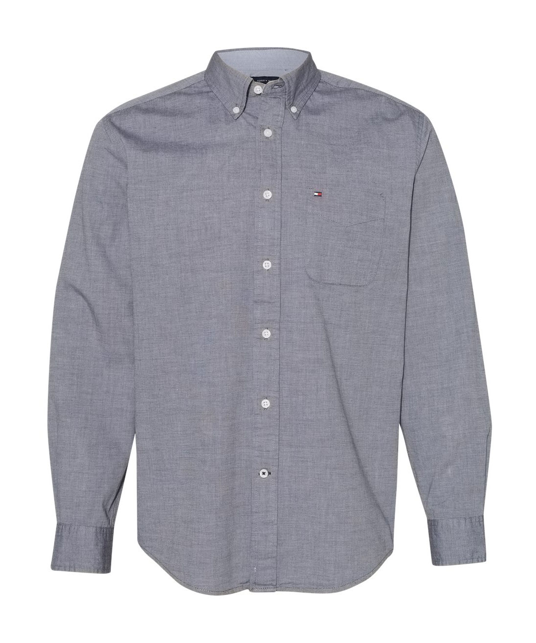 Tommy Hilfiger - Adult Capote End-on-End Chambray Shirt