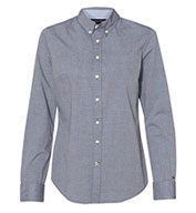 Custom Tommy Hilfiger - Womens Capote End-on-End Chambray Shirt