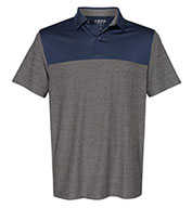 Custom IZOD Adult Colorblocked Space-Dyed Sport Shirt