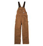 Custom Carhartt Mens Duck Quilt Lined Overalls