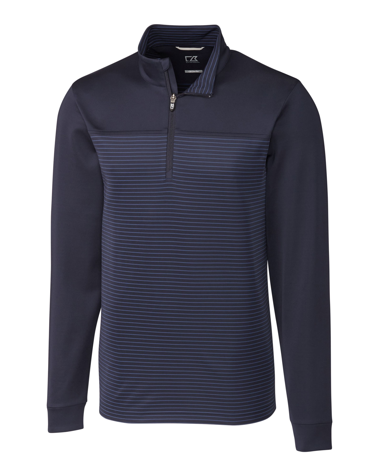 Big and Tall Traverse Stripe Half-Zip