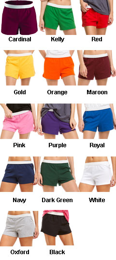 Junior MJ Soffe Cheerleading Short - All Colors