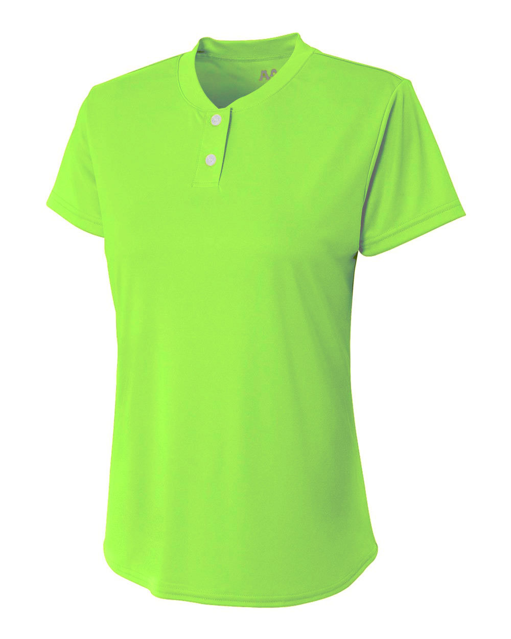 Ladies 2-Button Tek Henley