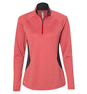 Custom Adidas Womens Lightweight Quarter-Zip Pullover