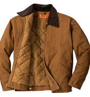 Custom CornerStone® Mens Duck Cloth Work Jacket