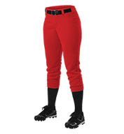Custom Womens Belt Loop Fastpitch Pant